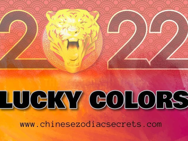 Lucky Feng Shui Colors 2022
